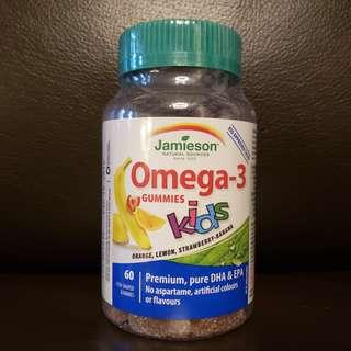 Jamieson Omega-3 兒童魚油軟糖