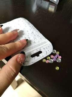 Diamond nail crystal mix big L size crystal Rhinestone diamond laser holographic Red color Glitter paillette Heart shape spangles for Nail Art and DIY decorations Tools