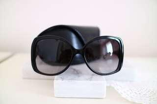 VINTAGE BVLGARI Oversized Square Sunglasses
