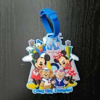 HK Disneyland luggage tag