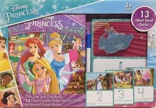 找找看畫卡遊戲書-迪士尼公主系列