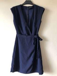 Zalora Side Tie Dress