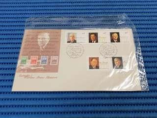 1994 Australia First Day Cover Australia's Wartime Prime Ministers