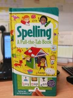 Pull the tab spelling book