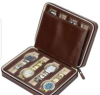 Leather Watch Case (Quality Product)