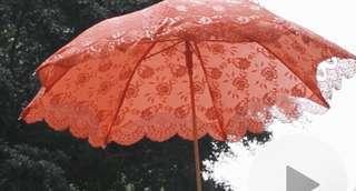 婚禮物資-出門紅傘