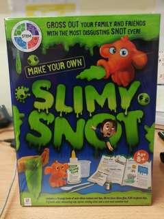 Make your own slimy snot slime
