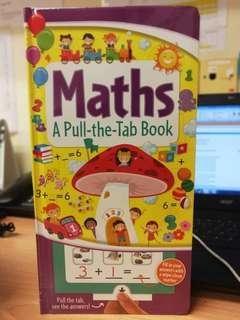Pull the tab board book maths