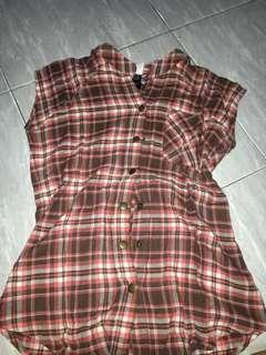 Shirt Blouse Red