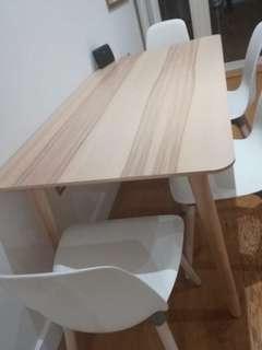 Ikea LISABO table 梣木 檯