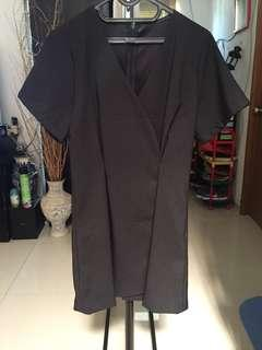Black Kimono Dress