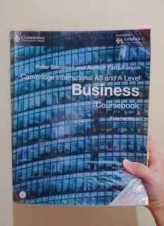 Cambridge A-Level Business Textbook