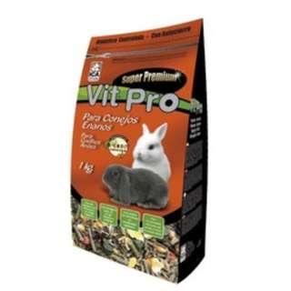 ICASA Vit Pro Super Premium Dwarf Rabbit Food (1kg or 3kg) in Quality Sealed Bag [Free Delivery]