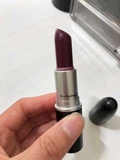 MAC Rebel Lipstick in satin finish