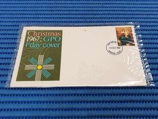 Great Britain Christmas 1967: GPO 1st First Day Cover
