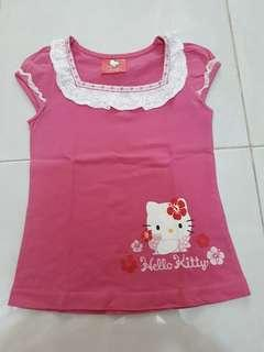 Hello kitty kaos pink