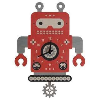 Modern Moose Robot 2 Pendulum Clock (Made in USA) / Modern Moose機器人2搖擺鐘 (美國製造)