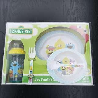芝麻街 5pc Feeding Set