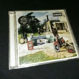 CD Oasis. Be here now. Imported.