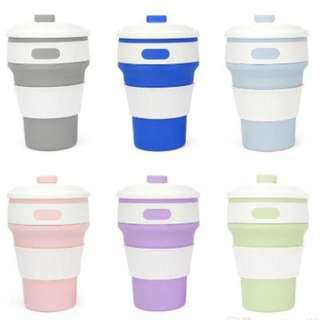 Collapsible Silicone Cup (350 ml / 500 ml)
