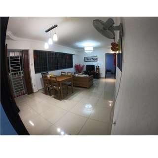 296C Newly Renovated 4-Room in Compassvale for Sale!!