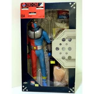 "MEDICOM RAH -全新ZERO-ONE人造人間 電腦奇俠 Kikaider-12"" Action Figure"