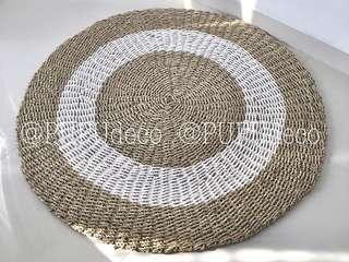 Karpet lantai diameter 100 - 120 - 150 cm @PUPUdeco