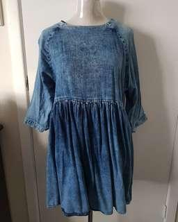Blue denim Asos Dress 💙 size 12