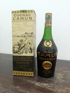 Cognac Camus Grand VSOP Sealed Never Open Bottle Before