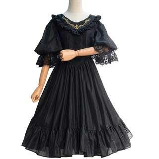 Lolita連衣裙 中長款公主裙