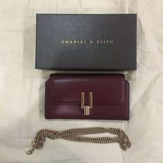 Charles and Keith Clutch/Wallet Bag