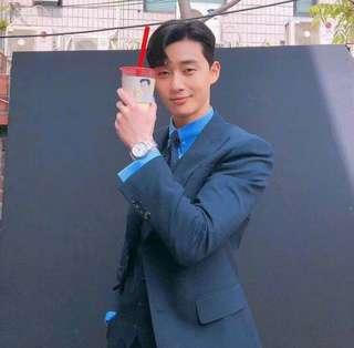 SIGNED PHOTO / SIGN TO PARK SEO JOON