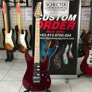 BRAND NEW SCHECTER JAPAN NV3-24-AL TRANS RED