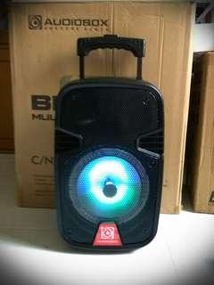 Speaker for microphones.