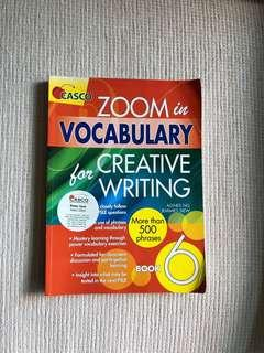 Zoom in Vocabulary for Creative Writing