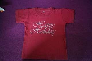 Kaos happy holiday