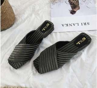 suede sandal