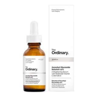 BNIB The Ordinary Ascorbyl Glucoside Solution 12%