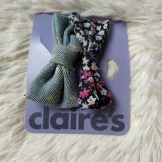 Claire's Bow Clip