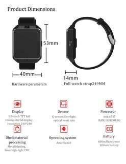 🚚 4G smart watch (independent sim)