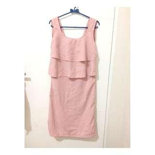 PINK OUTER DRESS