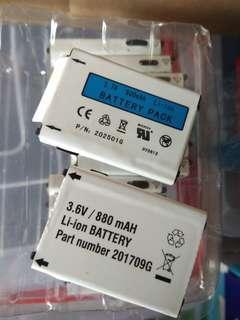Unitech batteries for pt630 ht630 series