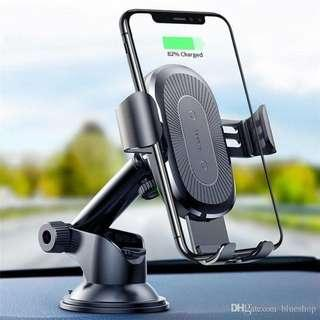 Baseus Qi Wireless car phone cup suction holder