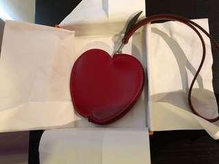 BNIB Hermès apple charm