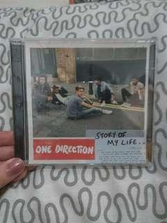 1D One Direction Story Of My Life Single Album