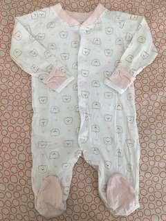 Tiny Tummies Sleepsuits