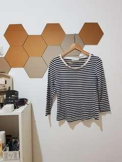 Zara, Basic Stripes Top