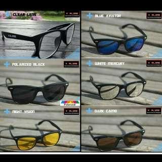 🌞Latest Trending!🌛  X Glare 5 in 1 magnetic clip-on Sunglasses