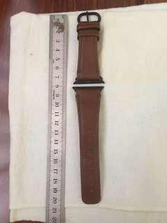 IWatch Pad and Quill Leather Strap