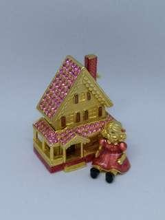 Estee lauder solid perfume Beautiful Victorian Dollhouse